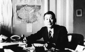 Chiune Sugihara, Japanese consul in Kaunas, Lithuania risked his position and his life to save thousands from Nazi concentration camps
